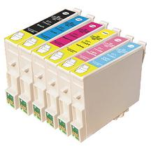 Compatible Epson T0481/T0482/T0483/T0484/T0485/T0486 Cartridges Full Set