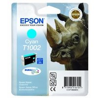 Original Epson T1002 Cyan Ink Cartridge
