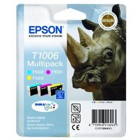 Original Epson T1006 3-Colour Multipack Ink Cartridges