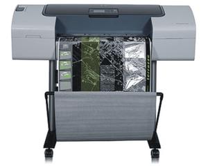 HP DesignJet T1100 24-in