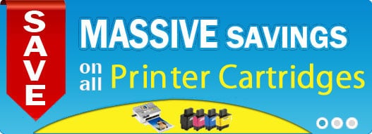Massive Savings on all Printer Cartridges